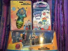 New In Box Lot Of Disney Meet The Robinsons Toys Book Figures Spinning Toy