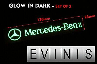 BMW M Performance Glow in Dark decals stickers Graphics x2