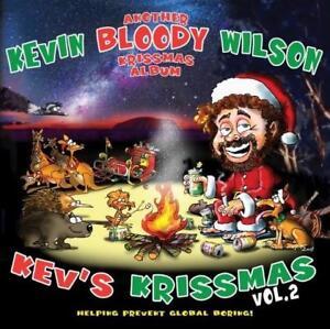 KEVIN-BLOODY-WILSON-KEV-039-S-KRISTMAS-Vol-2-ANOTHER-BLOODY-KRISSMAS-ALBUM-CD-NEW