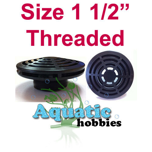 1.5  Low Profile Thread Screen Strainer 1-1 2  Lifegard Aquati Overflow Bulkhead