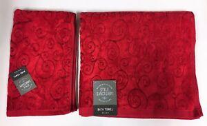 Style-Sanctuary-2-Pieces-Kit-Rouge-Design-Tourbillon-Coton-Viscose