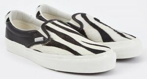4ff3b9a89d VANS VAULT OG SLIP ON 59 LX PONY HAIR ZEBRA 8.5 10.5 FUR ANIMAL PACK ...
