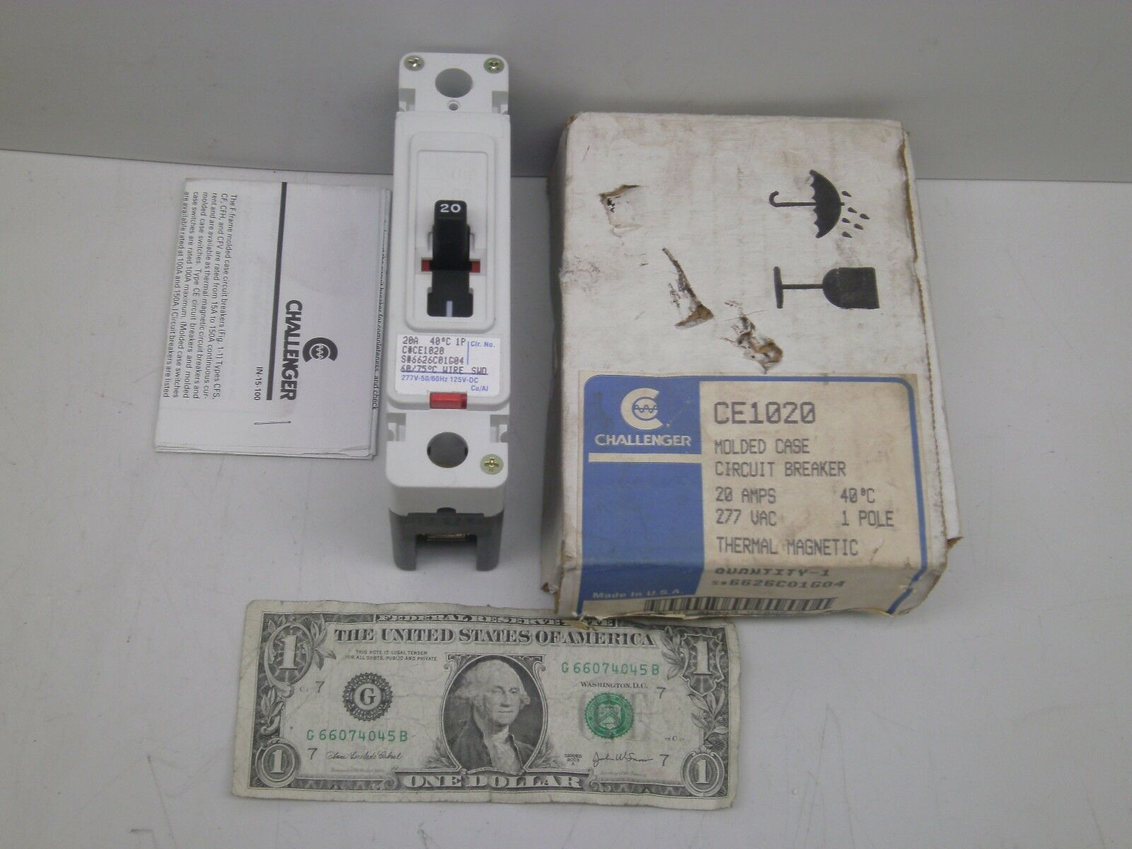 Challenger 1 Pole 20 Amp Ce1020 Circuit Breaker Voltage Rating 277 Breakers Types Norton Secured Powered By Verisign