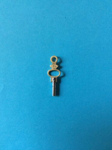 Uhrenschlüssel Taschenuhr Schlüssel Aufziehschlüssel Nr.2 Vierkant 1,75 mm  Neu