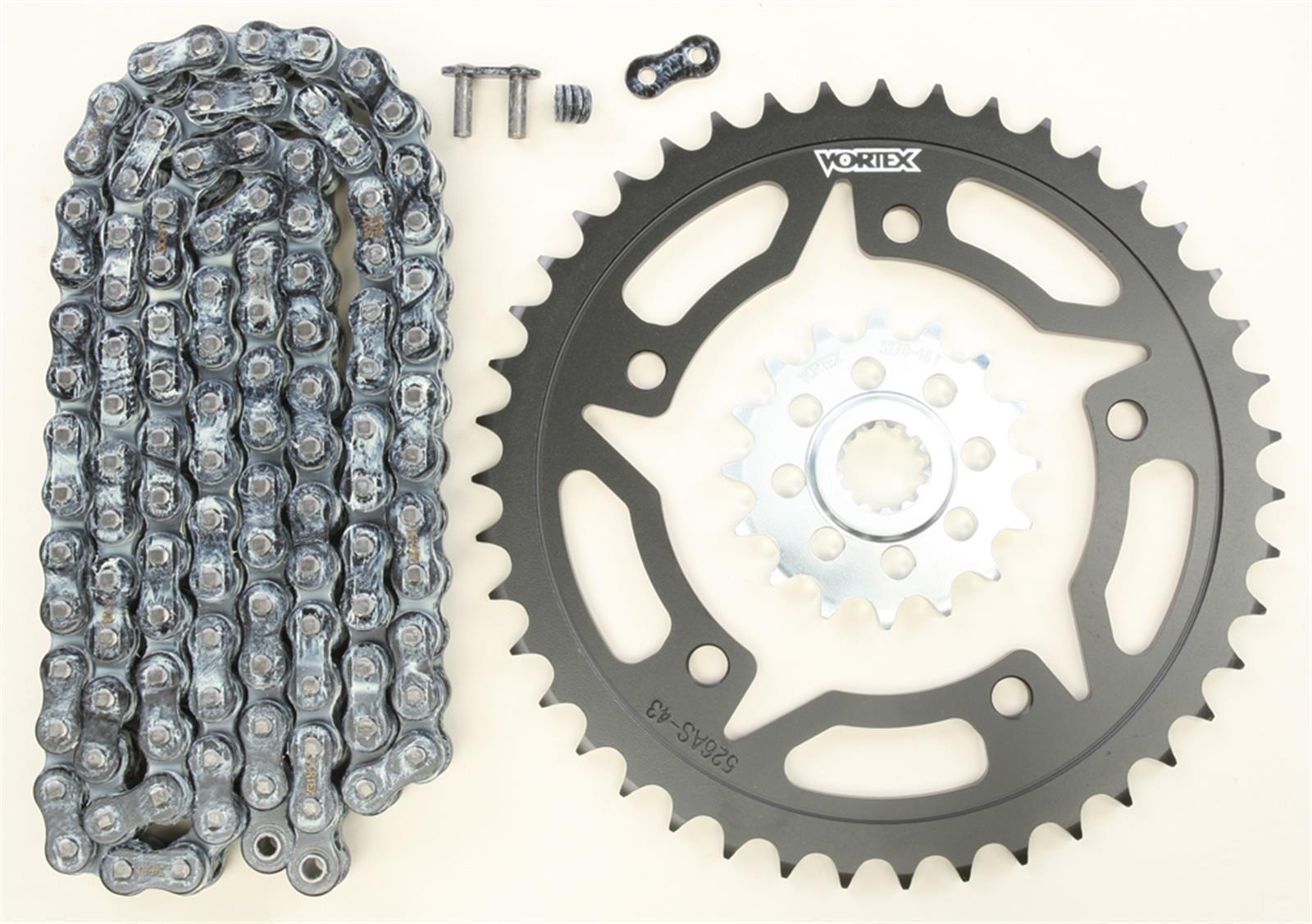 Vortex CK6127 Chain and Sprocket Kit