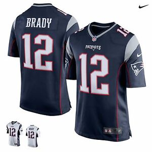 watch 43ba9 280cc Details about Tom Brady 2019 New England Patriots NFL Nike Game Jersey  Football NEW Authentic