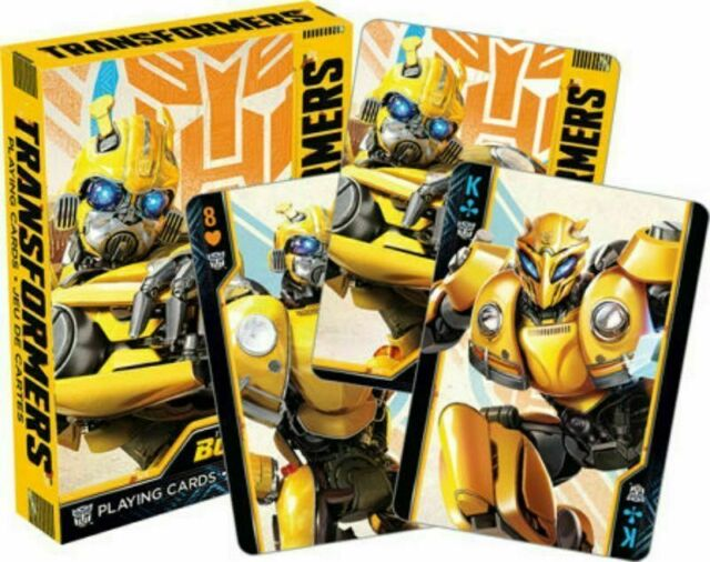 Transformer BumbleBee Movie Playing Cards Factory Sealed