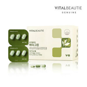 VITALBEAUTIE-Metagreen-560mg-x-90Tablets-for-Women-Weight-Control-Green-Tea