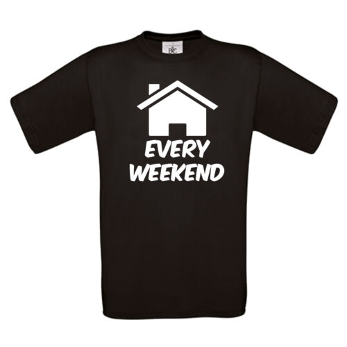 CLUBBING SUMMER ZOWIE DJ FESTIVAL DANCE MUSIC TEE HOUSE EVERY WEEKEND T SHIRT