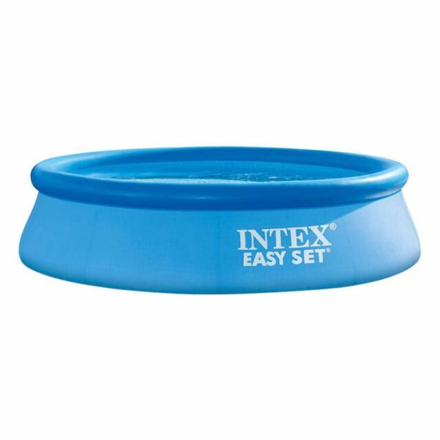 Intex Piscina fuori terra anello gonfiabile rotonda 305x76cm Easy Set 28120