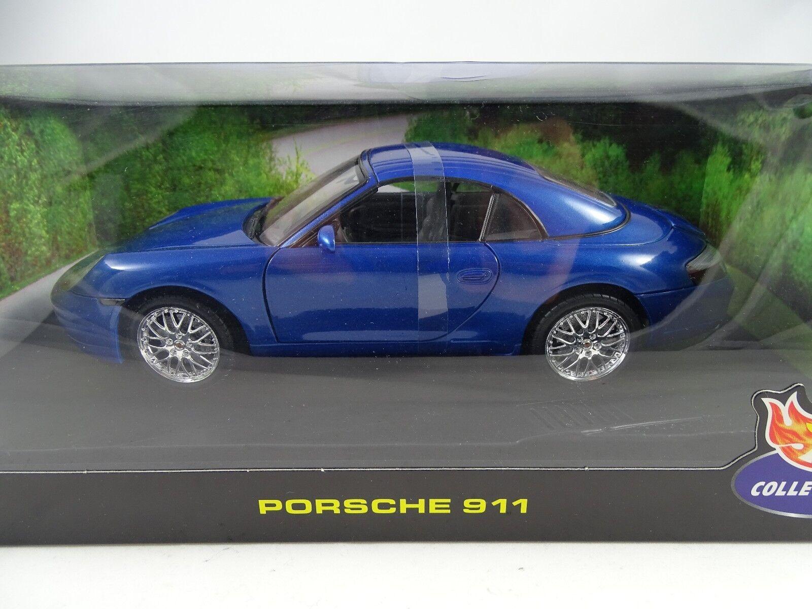 promocionales de incentivo 1 18 Hot Wheels  29062 Porsche 911 azul-rareza azul-rareza azul-rareza §  precios mas baratos