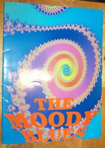 THE MOODY BLUES DAYS OF FUTURE PASSED 1967-1992 CONCERT TOUR BOOK