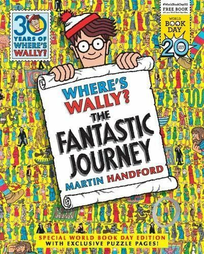 1 of 1 - Where's Wally? The Fantastic Journey, Martin Handford-World Book Day 2017 New