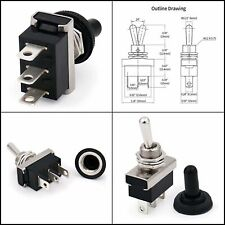 Baomain Car Toggle Switch Spdt On On 3 Pin 2 Position 12v 25a With Waterproof