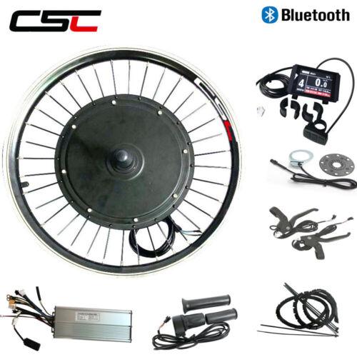 Electric Wheel Hub Engine Motor 48 V 500 W Sans Balai Anti-charge Bluetooth e bike