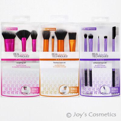"1 REAL TECHNIQUES Makeup Brush Set  ""Pick Your 1 Type""   *Joy's cosmetics*"