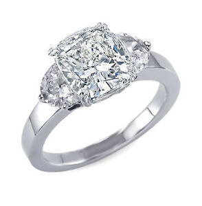 3-73ct-Natural-Cushion-3-Stone-Half-Moon-Diamond-Engagement-Ring-GIA-Certified