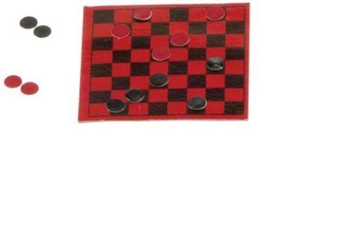 Dollhouse Miniatures 1:12 Scale Checker Set #IM65240