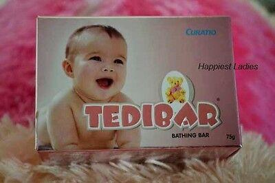 Gentle 10x Curatio Soap Tedibar Free Of Harmful Alkali Soft Supple Healthy Skin 75gm Mild And Mellow