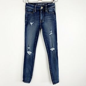 American-Eagle-Women-s-360-Super-Stretch-Jegging-Hi-Rise-Denim-Skinny-Jeans-Sz-0