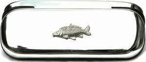Common Carp Fishing Pen Case & Ball Point Shooting Free Engraving Postage 80