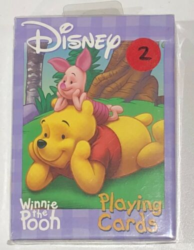 Playing Card Co Rare Collector 2 Bicycle Disney Winnie The Pooth U.S