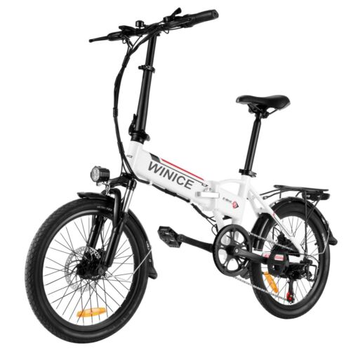 Vélo électrique 20 in VTT E-Bike Pedelec Pliable moteur 250 W Citybike