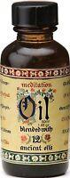 Meditation Range Fragrance Burner Oil - Blend Of 12 Essential Oils - 50ml Bottle