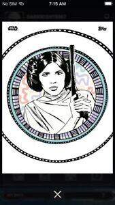 Topps-Star-Wars-Digital-Card-Trader-Geo-Native-Princess-Leia-Insert-Award
