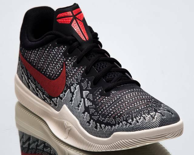 d18fa03ff355 Nike Mamba Rage Mens Sz 11.5 Kobe Bryant Basketball Shoe Black  Red for  sale online