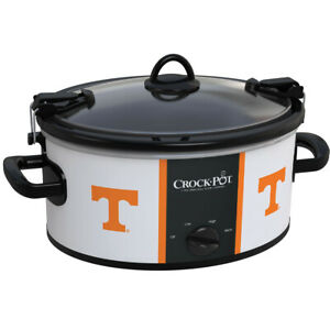 Crock-Pot 6 Qt Cook & Carry Dishwasher-Safe Slow Cooker, University of Tennessee