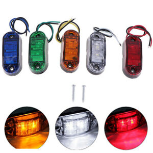 1Pc-2LED-Side-Marker-Clearance-Light-Lamp-Car-Truck-Trailer-Caravan-Lamp-ti