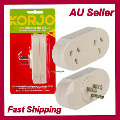 Korjo Adapter Aus Nz To Usa Canada And