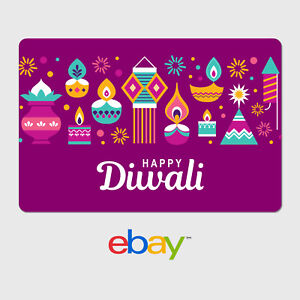 eBay Digital Gift Card - Happy Diwali - Email Delivery