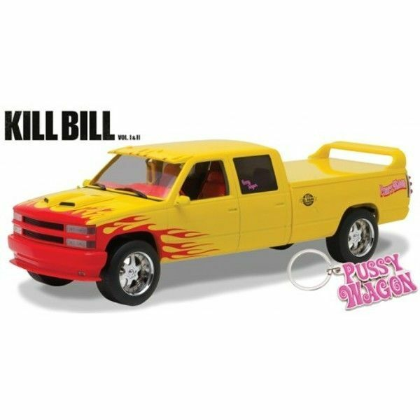 verdeLIGHT COLLECTIBLES KILL BILL 1997 CHEVROLET CHEVROLET CHEVROLET C-2500 PUSSY WAGON SCALE 1 18 1c8ade
