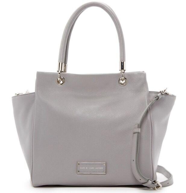 Storm Cloud Grey Leather Bag