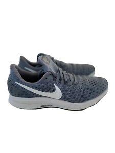 Nike-Men-039-s-Air-Zoom-Pegasus-35-Gray-White-Sneakers-Running-Training-Shoes-Sz-9-5