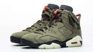 Travis Scott X Air Jordan 6 Size 11.5