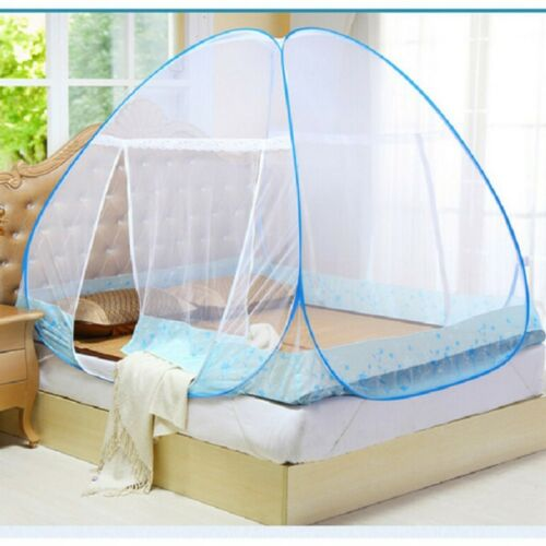 Folding Mosquito Net Automatic Canopy Dome Insect Bed Netting Camping Tent AU