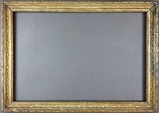 Ancien Cadre Format 49 cm x 34 cm Antique Frame Old Vintage Cornice Rahmen Marco