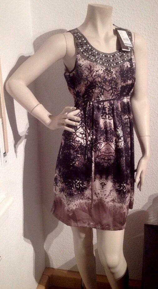 Comma Kleid 36 S Neu Mit Etikett  Steinchen Seiden Ähnlich