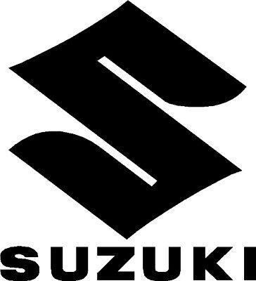 Suzuki Motorbike Motorcycle Fairings Tank Stickers Decals x2 @ 100 x 15mm Black