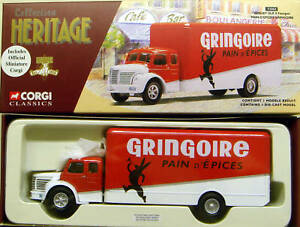 CORGI-francese-patrimonio-1-50-Berliet-GLR-FOURGON-GRINGOIRE-73003