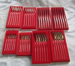 Robbe-amp-Berking-R-amp-B-Juwelierbesteck-Serie-034-Royal-034-800er-Silber-24teilig