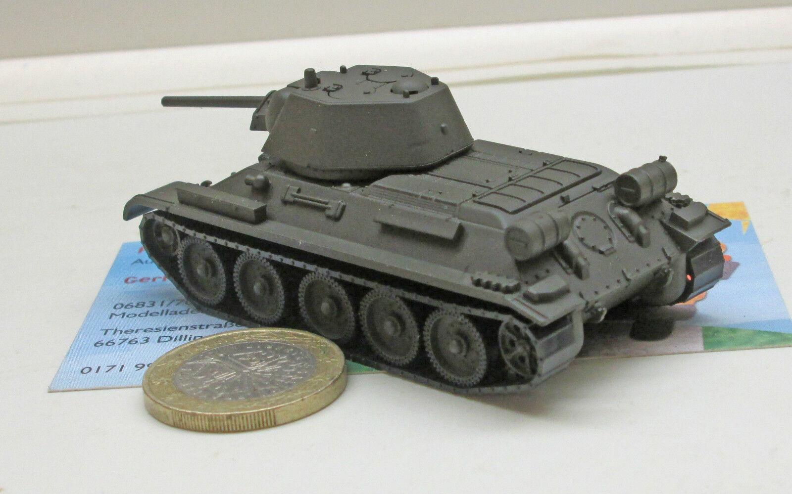 Undekoriert Neu Herpa 745567-1//87 Kampfpanzer T-34//76