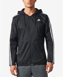 Acerca Hombre Entrenamiento Negro Correr De Título Adidas 3 Deportiva Viento Essentials Detalles Original Chaqueta Mostrar Bs2232 Rayas UzpSVqM