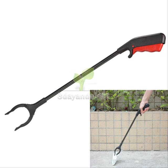 Foldable Long Reaching Pick Up Claw Gripper Grabber Helping Hand Tool Arm Extend