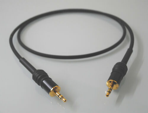 Stereo-Klinkenkabel 3,5 mm Sommercable GOBLIN schwarz Hicon Connectors