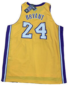 Details about New 2011 RARE Kobe Bryant Size 2XL Yellow Swingman Los Angeles Lakers Jersey NWT