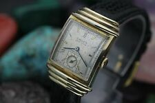 Vintage GRUEN Veri-Thin Precision Cal. 430 Hooded Lug 10K G.F. Men's Dress Watch